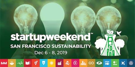Techstars Startup Weekend Sustainability tickets