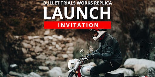 Royal Enfield Bullet Trials Replica Launch Evening