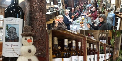 Felted Snowman Making & Fall Wine Tasting Special Evening