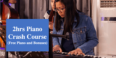 Piano Crash Course for Kids! (Learn 4 Songs in 2 Hours) tickets