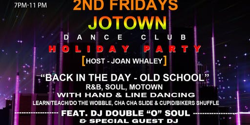 Jotown Dance Club 2nd Friday, December