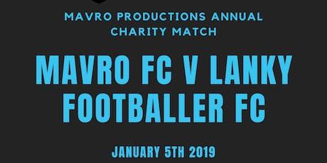 Mavro FC v Lanky Footballer FC tickets