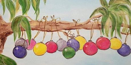 Aussie Christmas bauble's tickets