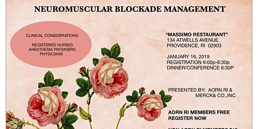 NEUROMUSCULAR BLOCKADE MANAGEMENT