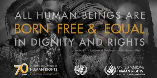 Human Rights Day - #standup4humanrights