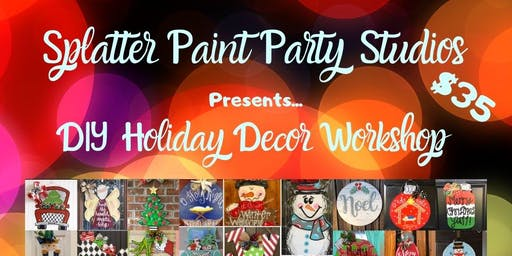 Holiday Home Decor Workshop at PRAC