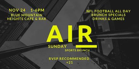 Air Sunday Sports Brunch tickets