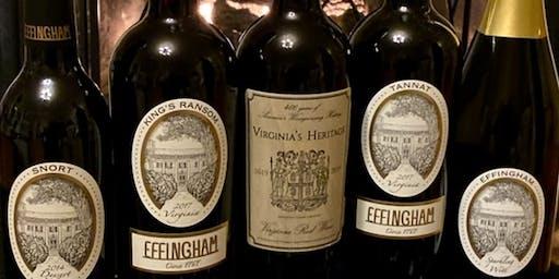 Reserve Wine Tastings