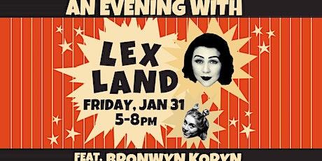 An Evening with Lex Land feat. Bronwyn Koryn tickets