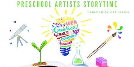 Preschool Artists Storytime tickets