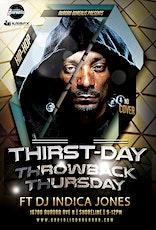 Thirstdays: Throwback Hip-Hop tickets