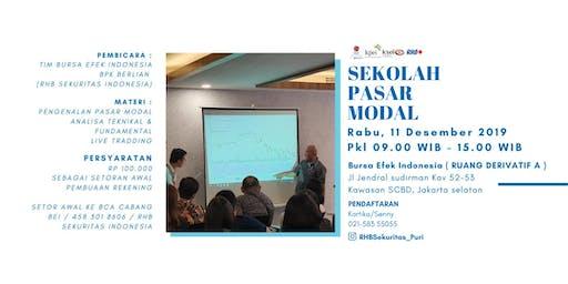 SEKOLAH PASAR MODAL @BURSA EFEK JAKARTA
