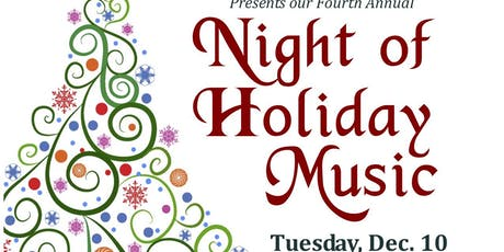 LALM's 4th annual Night of Holiday Music - to benefit ALF NYC tickets