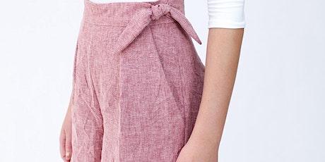 Summer Sewing Workshop - Shorts by Megan Nielsen tickets