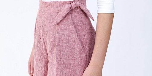 Summer Sewing Workshop - Shorts by Megan Nielsen
