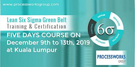 Lean Six Sigma Green Belt tickets