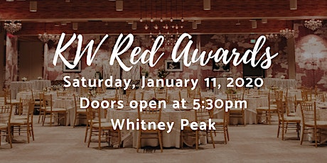 KW Red Awards tickets