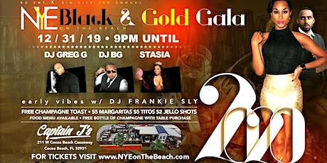 New Year's Eve On The Beach tickets