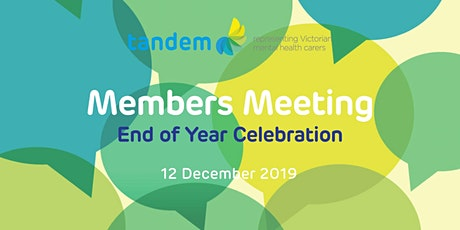 Members Meeting and End of Year Celebration tickets