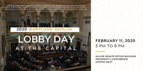 2020 Maryland Muslim Lobby Day at the Capital  tickets