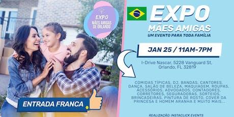 Expo Mães Amigas de Orlando - Entrada Franca bilhetes