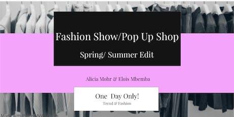 Fashion Show / Pop Up Shop tickets