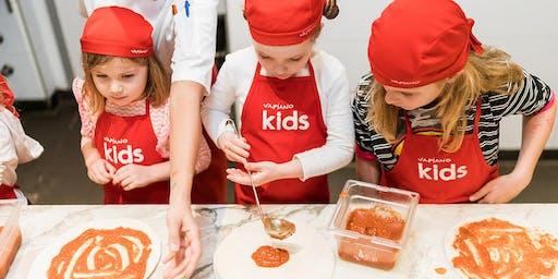 Vapiano Grand Central Pizza Kids!