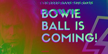 Bowie Masquerade Ball tickets