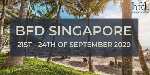 BFD Singapore 2020 - Tickets available now