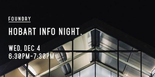 Hobart Info Night | Wednesday, 4 December