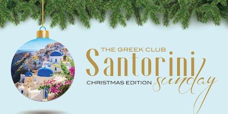 Santorini Sunday tickets