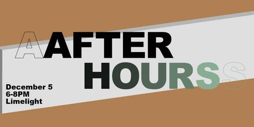 Creatively Speaking presents 'After Hours' @ Limelight