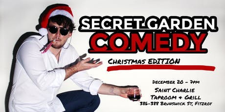 Secret Garden Comedy - Christmas Edition tickets