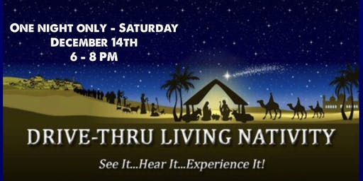 Drive Thru Live Nativity