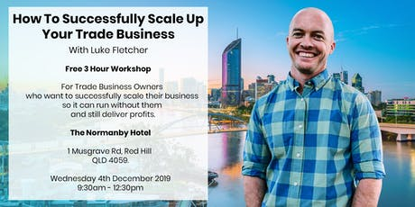 How to Successfully Scale Up: For  Trade Businesses tickets