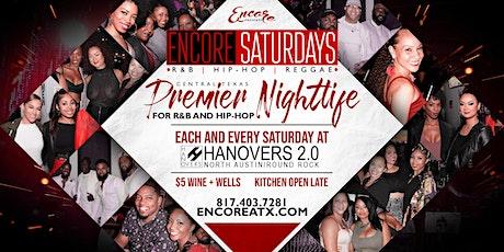 Encore Saturdays 1.25 | R&B, Hip-Hop, Reggae tickets