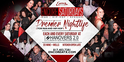 Encore Saturdays 1.25 | R&B, Hip-Hop, Reggae
