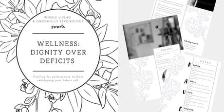 Wellness: Dignity over Deficits tickets