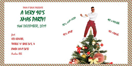 A Very 90's Xmas Party!