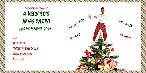 A Very 90's Xmas Party!