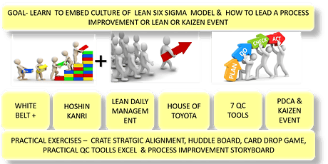 PMI LAKESHORE ONTARIO CHAPTER PRESENTS LEAN SIX SIGMA (LEGO) YELLOW BELT CERTIFICATION, 2 DAYS, MAY 23 & 30, 2020 tickets