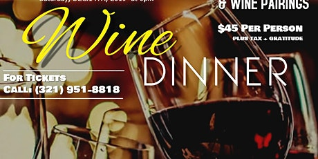 7 Course Wine Dinner tickets
