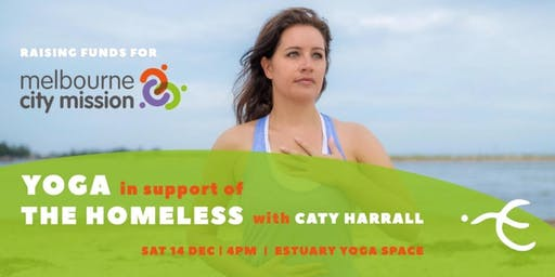 Yoga in support of the Homeless