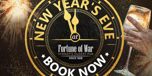 New Year's Eve 2019 at Fortune of War