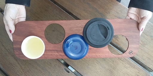 Saved from landfill: 're-' rescued timber cup holders