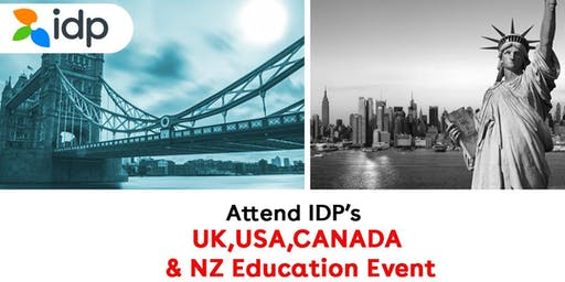 Attend IDP's UK, USA, Canada, NZ Education Fair 2020 in Bangladesh