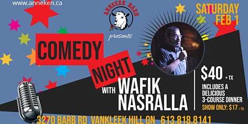 Comedy Night with WAFIK NASRALLA