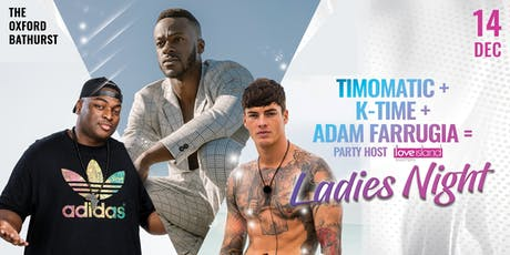 Timomatic feat. K-Time & Adam Farrugia (Love Island) tickets