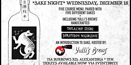 Sake Night @ Yulli's Brews tickets