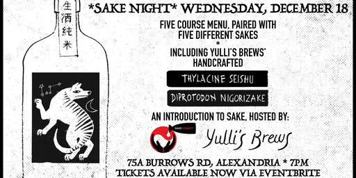 Sake Night @ Yulli's Brews